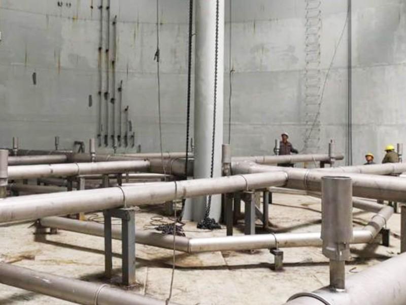 辽宁某PTA污水装置EP固液分离模块及布水系统安装